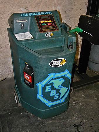 brake flush machine